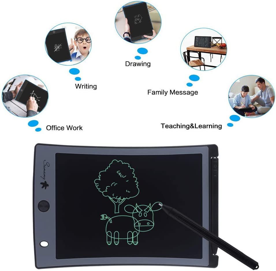 dalina LCD Screen Handwriting Tablet Children Electronic Drawing Board with Stylus Digital Handwriting Pads