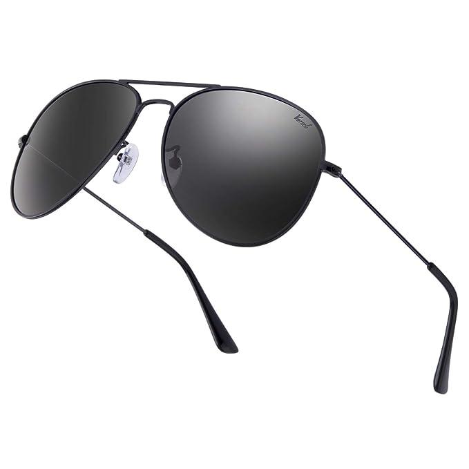 Amazon.com: Versol - Gafas de sol de aviador para hombres y ...
