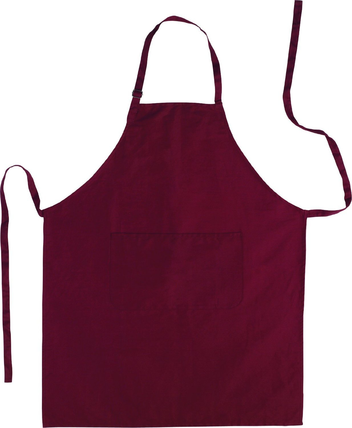 Küchenschürze barbecue apron made of cotton in burgundy colour Grillschürze Others