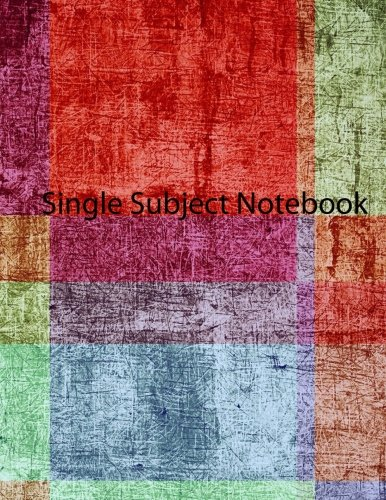 Download Single Subject Notebook pdf