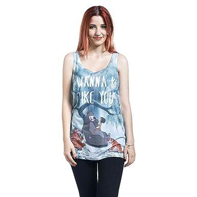 Das Dschungelbuch I Wanna Be Like You Girl-Top multicolour XL