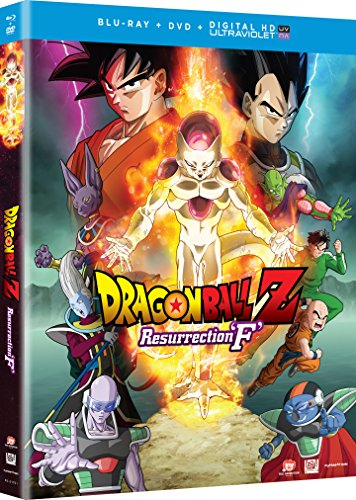 Blu-ray : Dragon Ball Z: Resurrection F (With DVD, 2 Pack, Digital Copy, 2 Disc)