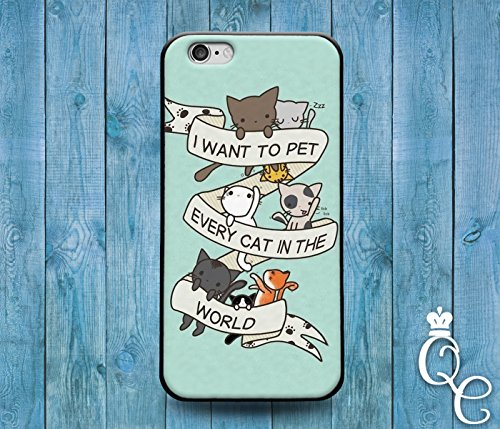 Price comparison product image *BoutiqueHouse* iPhone 4 4s 5 5s 5c SE 6 6s plus iPod Touch 4th 5th 6th Generation Cute Kitten Quote Phone Case Funny Kitty Cat Animal Lover Pet Fun Hipster(Samsung Galaxy S4)