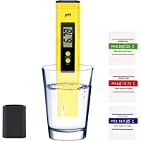 KWODE Digital PH Meter,Water Quality Tester Pen with 0-14 PH Measurement Range ATC 0.01 PH High Accuracy for Household…