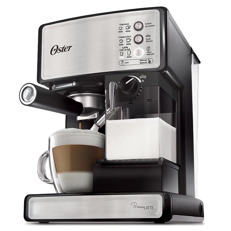 Oster Prima Latte One Touch Automatic Espresso, Cappuccino, Latte ...