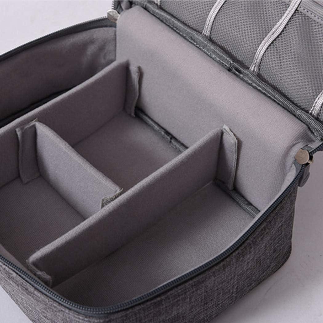 Coafit Cable Organizer Bag Portable Universal Travel Gadget Bag