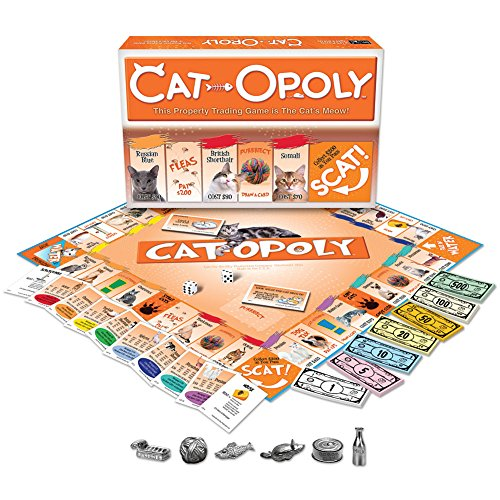Cat Opoly Monopoly Board Game By Late For The Sky