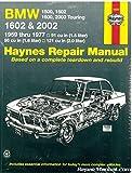 H18050 Haynes BMW 1500 1600 2002 1959-1977 Auto Repair Manual