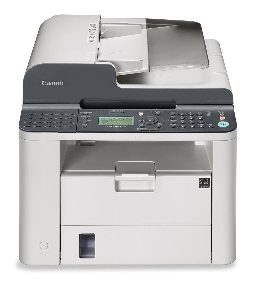Amazon.com: Canon FAXPHONE L190 Multifunction Laser Fax Machine: Electronics