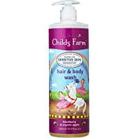 Childs Farm Hair & Body wash, BlackBerry and Organic Apple 500ml