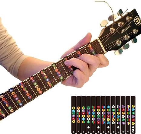 Guitarra Diapasón de madera de entrenador | codificados por ...