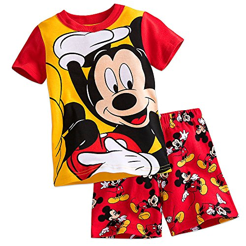 Disney Mickey Mouse PJ PALS Pajamas Short Set for Boys Size 3
