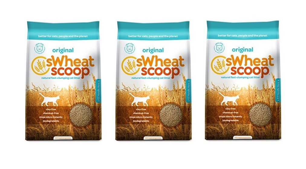 sWheat Scoop Cat Litter, 36 Pound (Pack of 3)