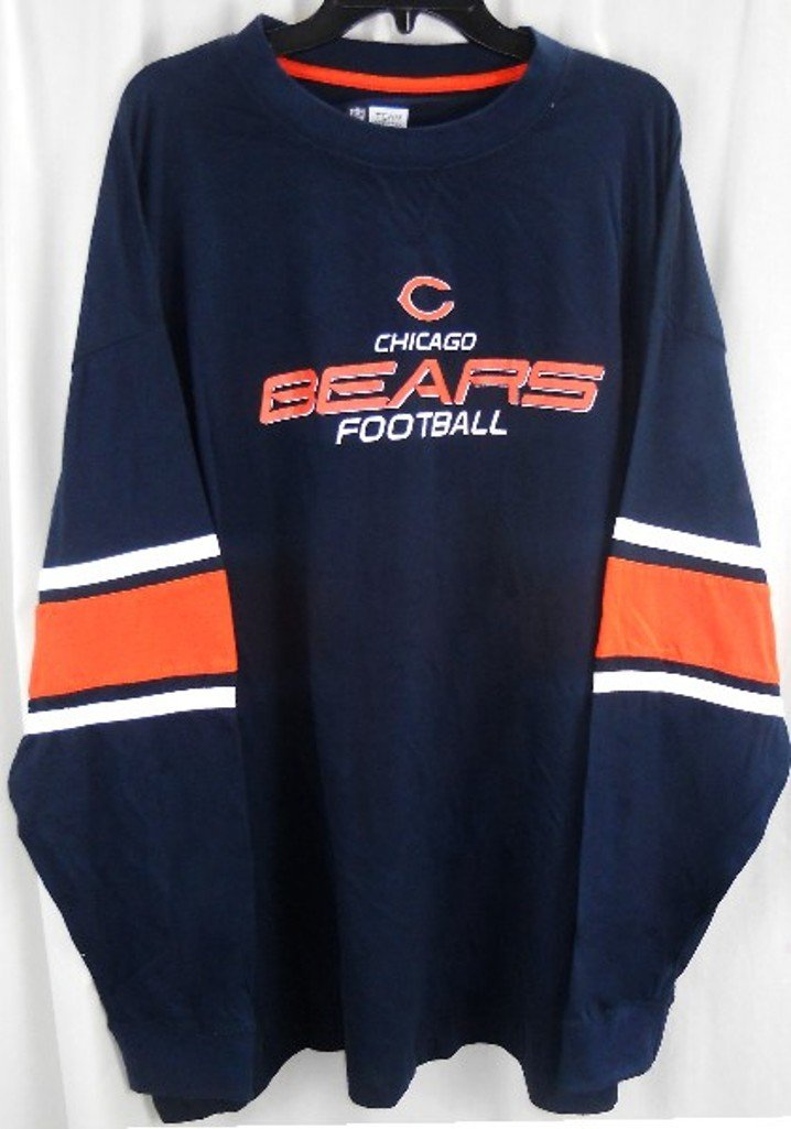 buy popular 9f32e f87eb low-cost Chicago Bears NFL Apparel Long Sleeve Mens Jersey ...