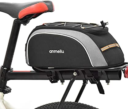 Lixada Alforja para Bicicleta 7L Impermeable Bolsa de Bicicleta Funda Impermeable para Lluvia: Amazon.es: Deportes y aire libre