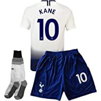youyn 2018/2019 Tottenham Hotspur Home #10 Kane Kids/Youth Soccer Jersey &