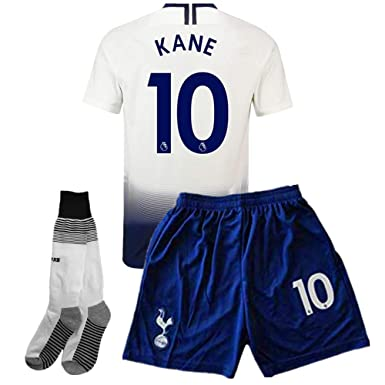 bc8ae470d youyn 2018/2019 Tottenham Hotspur Home #10 Kane Kids/Youth Soccer Jersey &