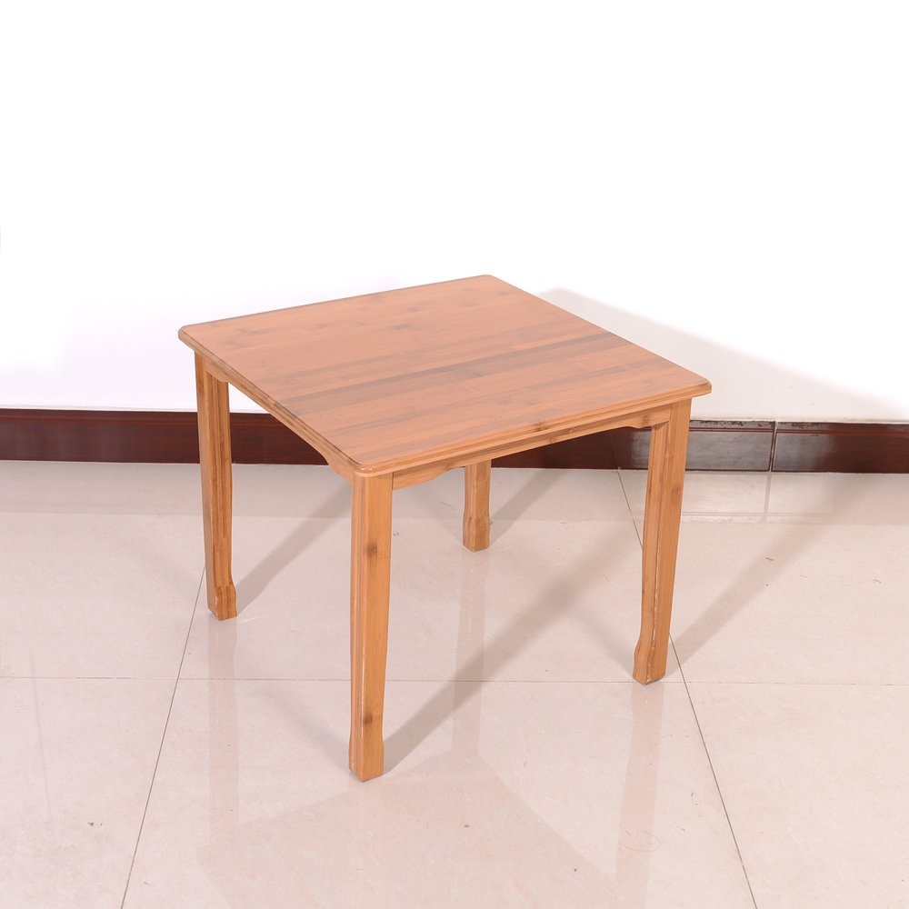 Azadx Bamboo Table and 2 Chairs Set - Kid's Furniture for Playing Reading Drawing Writing Eating Wood Color by Azadx (Image #5)
