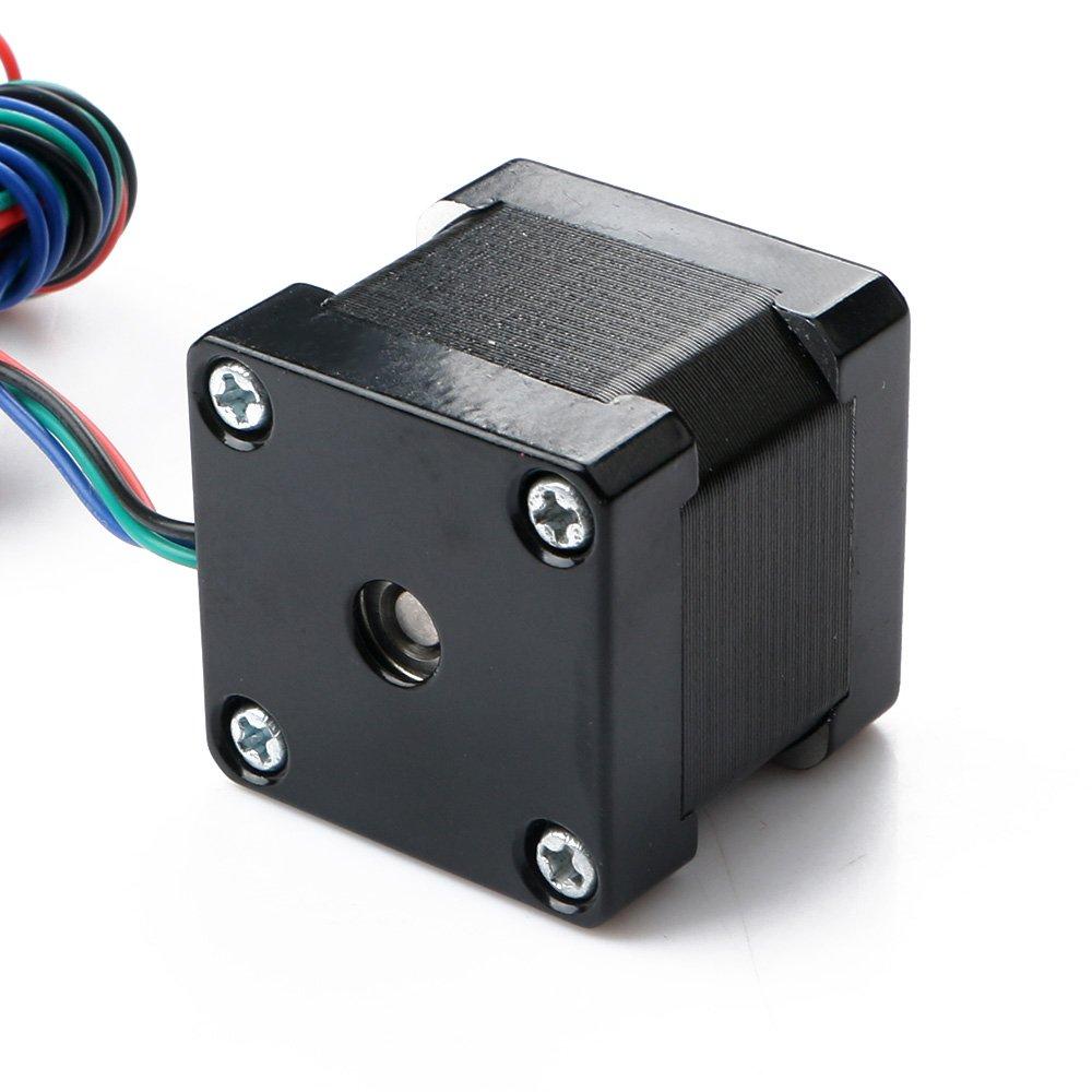 Nuevo motor paso a paso de 1,8 grados 35 mm NEMA14 2 fases 3,6 V BYGHW para luces de movimiento de impresora 3D o soportes de espejo: Amazon.es: Industria, empresas y ciencia