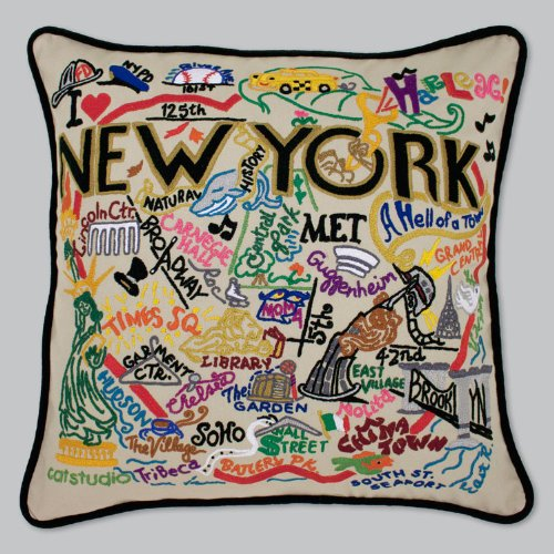 Catstudio New York City Pillow - Geography Collection