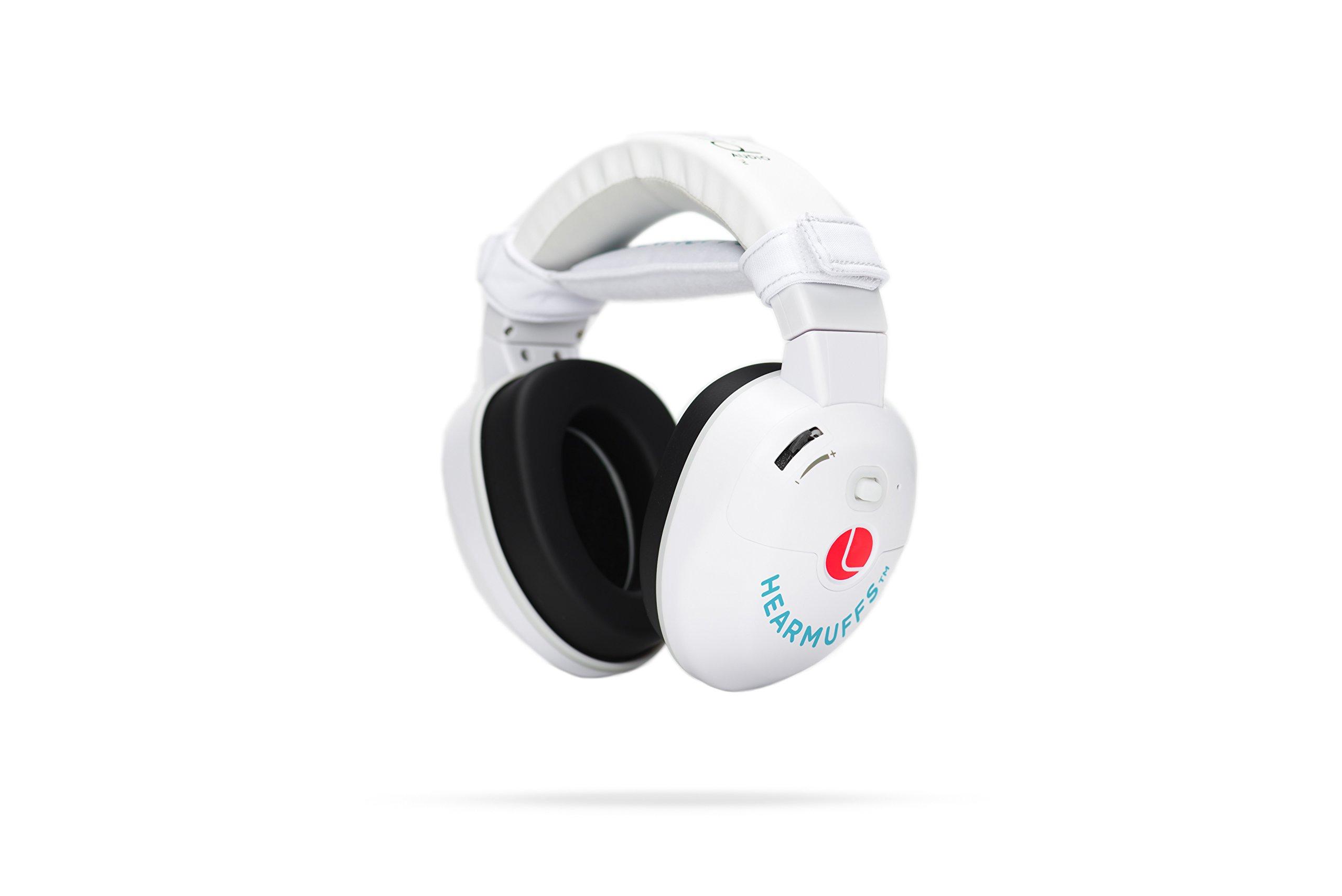 Lucid Audio ETYLAINFNTASM HearMuffs Sounds for Infants, White