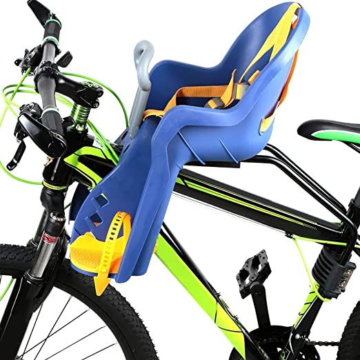 DKZK SillíN De Bicicleta para NiñOs, SillíN De Bicicleta De ...