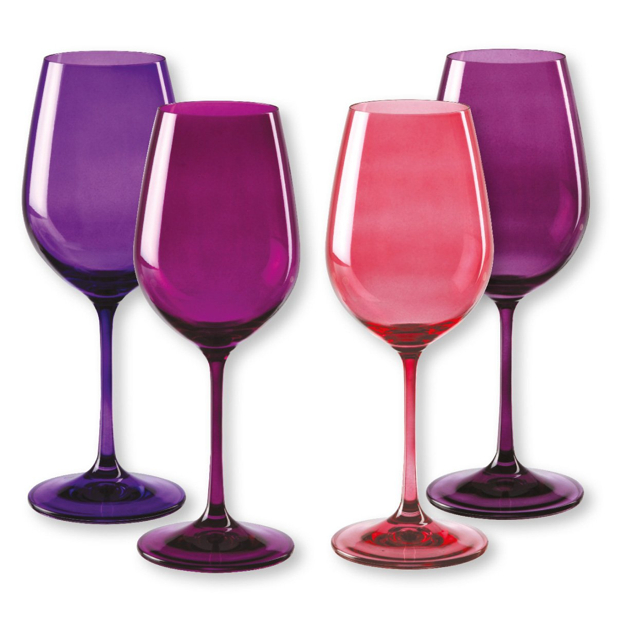 Verre A Vin Violet