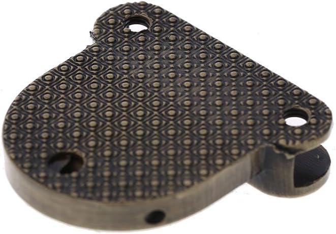 2 x Silver 02# Hacloser 2Pcs Turn Lock for Purses Handbag Clasp Decoration Metal Hardware DIY Shoulder Bag Making Tool