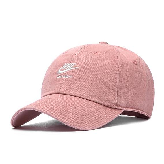 Nike W NSW SNL H86 Gorra, Mujer, Rust Storm Pink/Sail, Talla Única ...