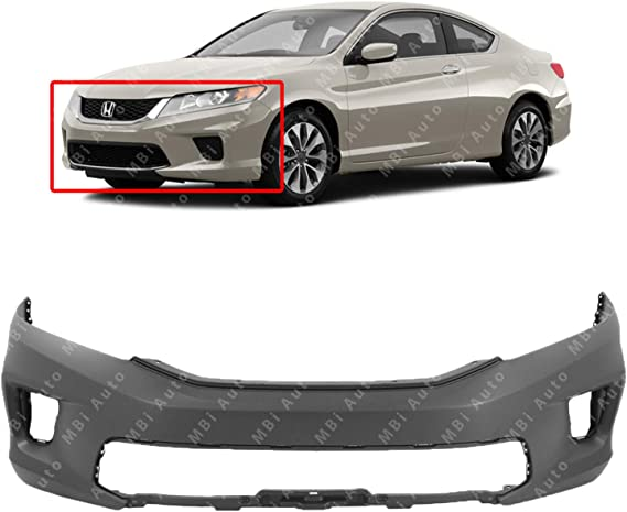HO1000291 NEW BUMPER COVER FRONT FOR HONDA ACCORD COUPE 2013-2015