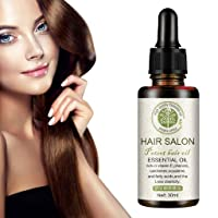 Hair Salon Essential Oil, 2020 Hair Care Premium Treatment Essential Oil- For Healthier Scalp Soft and Light Care for Damaged Hair, Giving Shine and Gloss