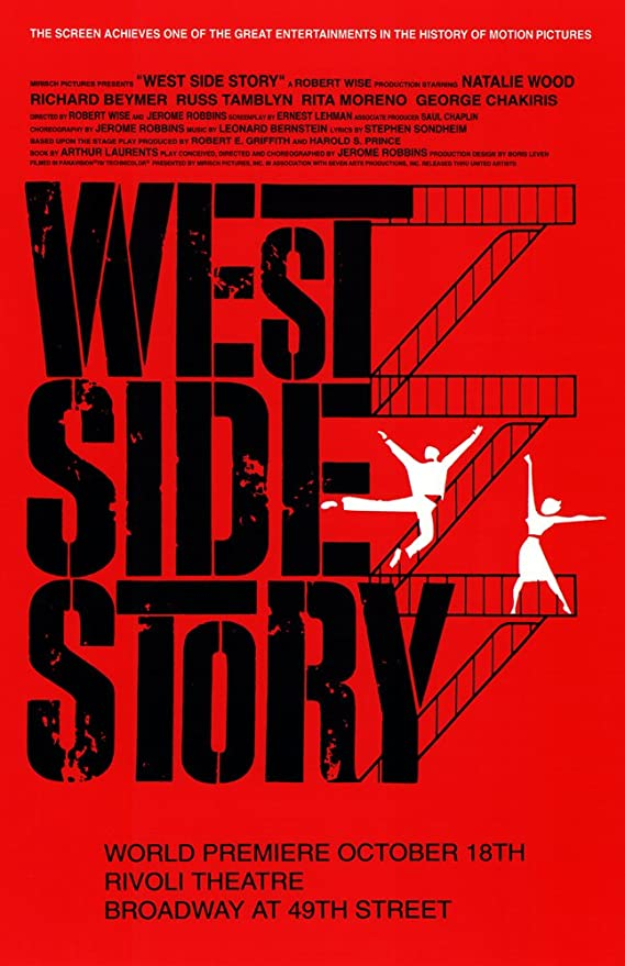 West Side Story 7   Movie Posters Musicals Vintage /& Classic Cinema