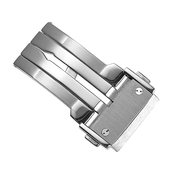 CHIMAERA 22mm 24mm Hebilla de Cierre de despliegue de Acero Inoxidable para Hublot Relojes para Hombre Correa de Banda Big Bang Series