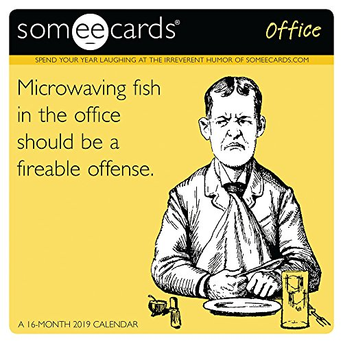 Book cover from Someecards-Office Mini Wall Calendar (2019) by Day Dream