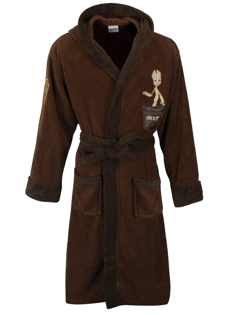 Guardians of the Galaxy Groot Marvel Fleece Robe with Hood Groovy