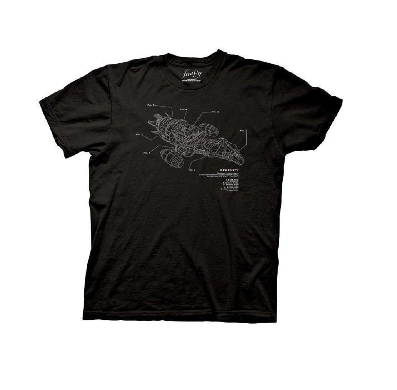 Firefly Serenity Firefly Serenity Diagram T-Shirt