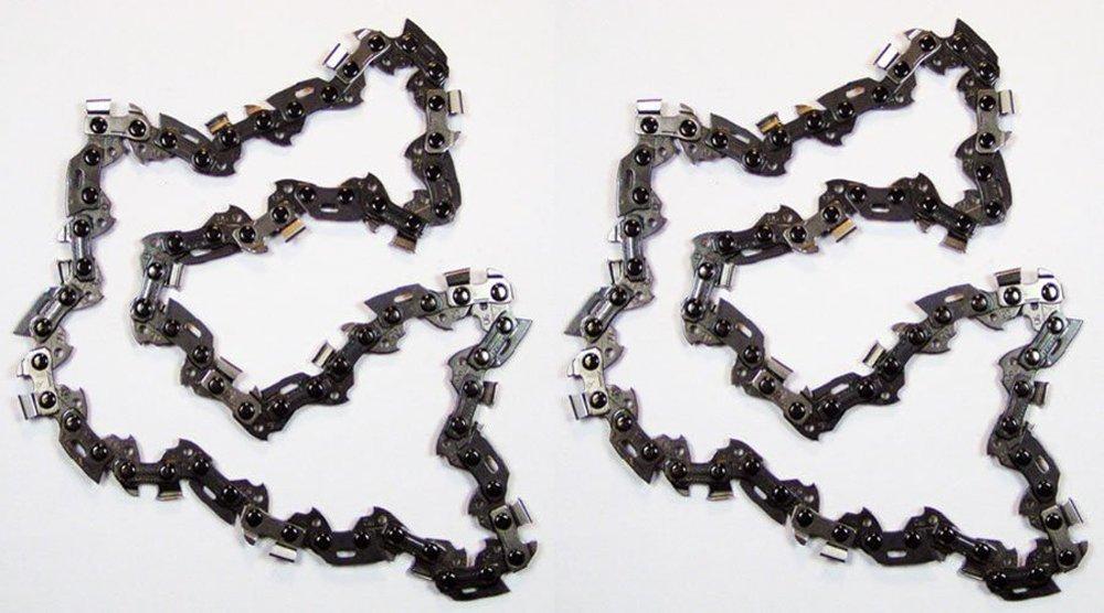 Homelite UT-43160/30254EG Ryobi RY43160 Pole Saw (2 Pack) Replacement Chain # 901289001-2pk