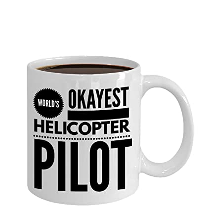 Funny Helicopter Pilot Mugs