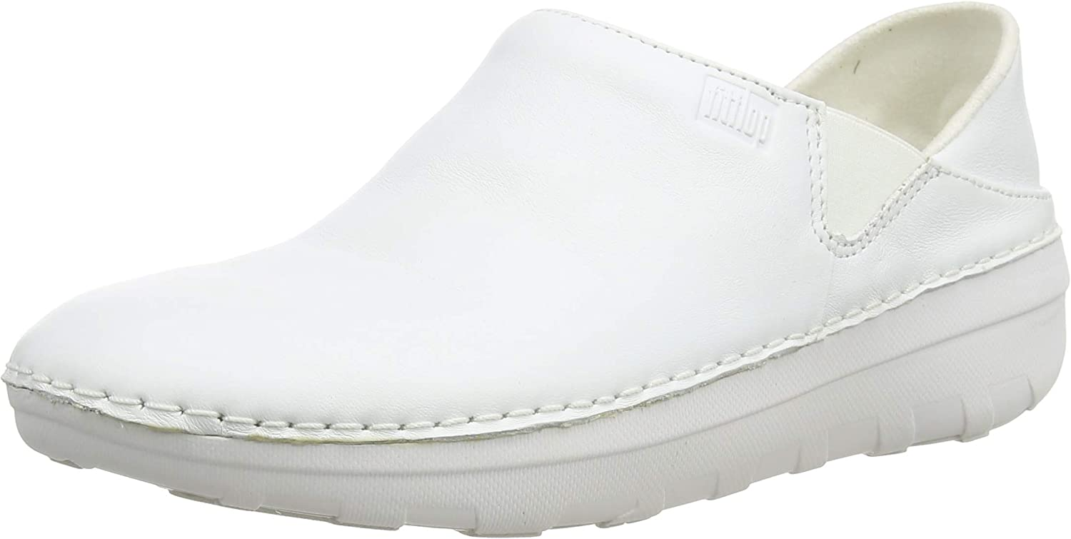 FitFlop Superloafer (Leather), Mocasines para Mujer