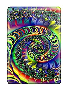 Top Quality Case Cover For Ipad Air Case With Nice Fractal Appearance