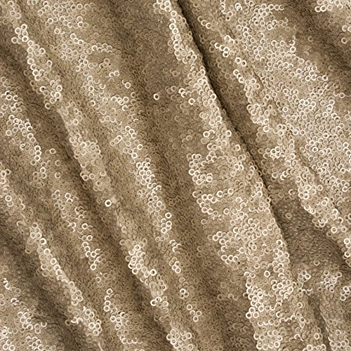 Wedding Aisle Runner-100FTx4FT Wide New Arrival Matte Gold Sequin Aisle Floor Runner on Sale by ShiDianYi