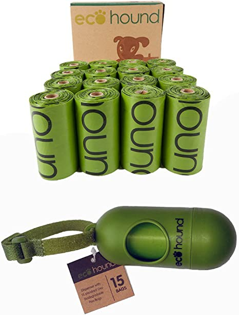 Ecohound - Bolso de Perro Biodegradable con Rollos y dispensador ...