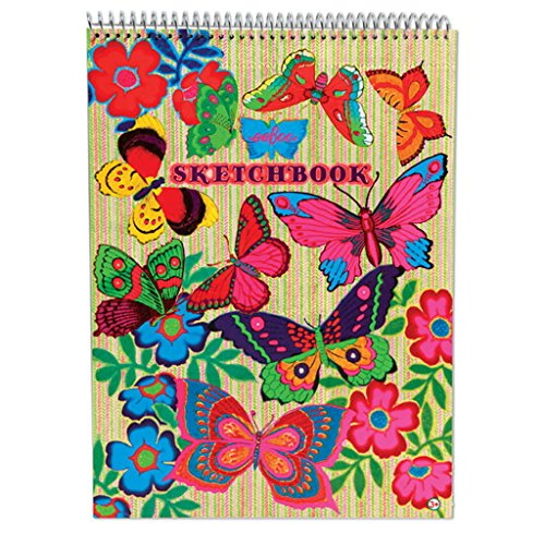 eeBoo Sketch Drawing Fluorescent Butterfly product image