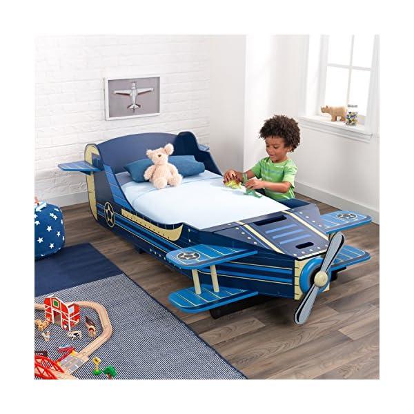 KidKraft Airplane Toddler Bed 3