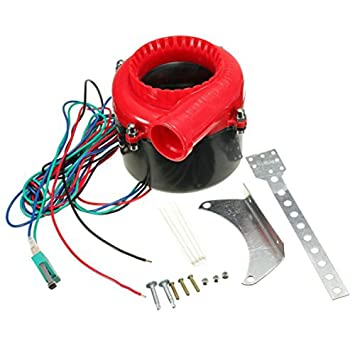 ulable coche Fake volquete sonido analógico electrónico Turbo Blow Off Válvula de campana ABS plástico