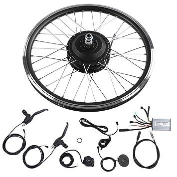 Kit de Bicicleta Eléctrica, 36V/48V 350W Kit de Conversióne Bike ...