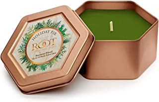 product image for Root Candles 8864398 Traveler Tin Scented Beeswax Blend Candle, 4-Ounce, Holiday Fir