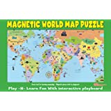 Amazoncom Learning Resources Magnetic US Map Puzzle Pieces - Magnetic map of us