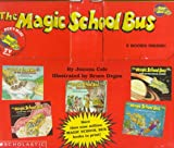 The Magic School Bus 5 books inside Briefcase At the Waterworks, Lost in the Solar System, Inside the Human Body, Inside the Earth, On the Ocean Floor