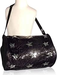 ac21414da21a 1 Perfect Choice Girl s Stylish Dance Duffle Bag Gymnastics Cheer Sequin  Stars